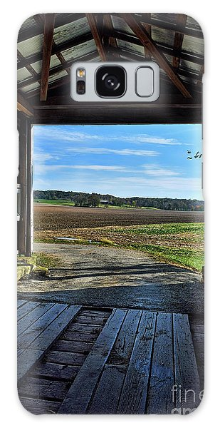 Crooks Covered Bridge 2 Galaxy Case