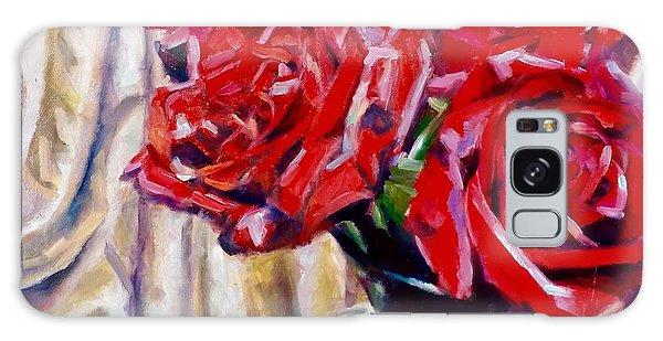 Crimson  Petals Galaxy Case