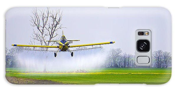 Precision Flying - Crop Dusting 1 Of 2 Galaxy Case
