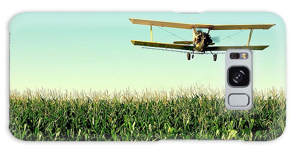 Airplanes Galaxy Case - Crops Dusted by Todd Klassy