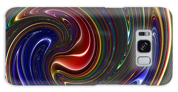Galaxy Case featuring the digital art Crosanneal by Andrew Kotlinski