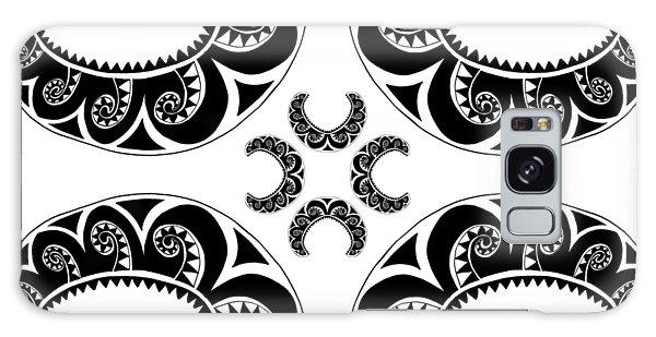 Cross Maori Style Galaxy Case