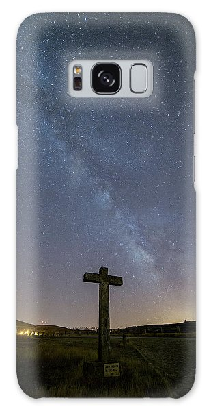 Galaxy Case featuring the photograph Cross Over To The Milky Way by Bruno Rosa