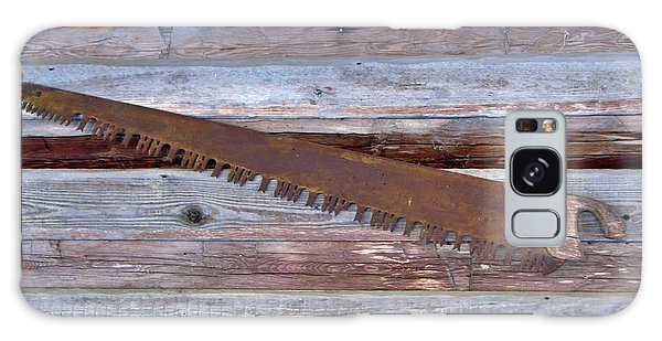 Crosscut Saw Galaxy Case