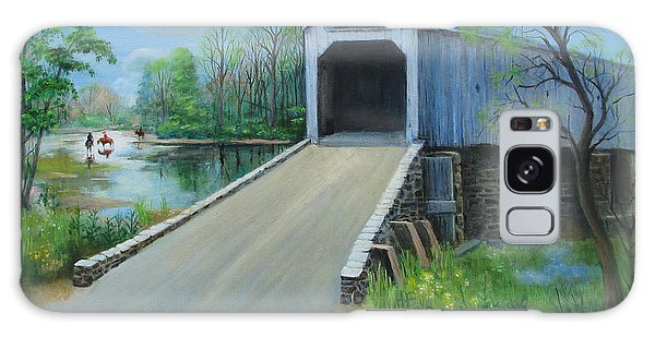 Crossing At The Covered Bridge Galaxy Case