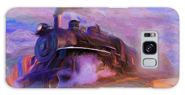 Crossing Rails Galaxy Case