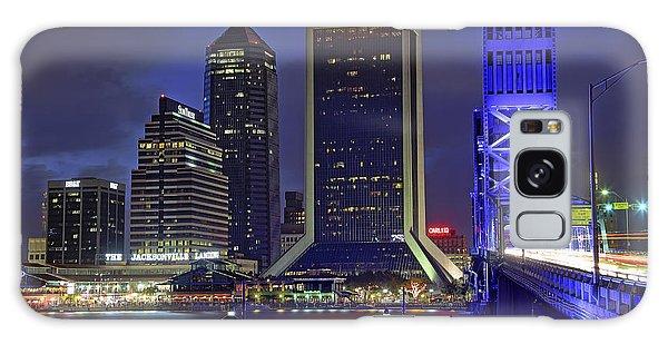 Crossing The Main Street Bridge - Jacksonville - Florida - Cityscape Galaxy Case
