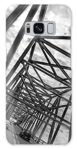 Crossing Through The Chesapeake Bay Bridge Galaxy Case