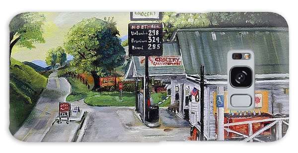Crossroads Grocery - Elijay, Ga - Old Gas And Grocery Store Galaxy Case