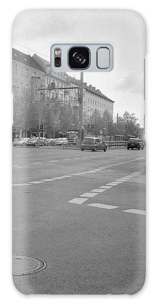 Crossroads In Prenzlauer Berg Galaxy Case