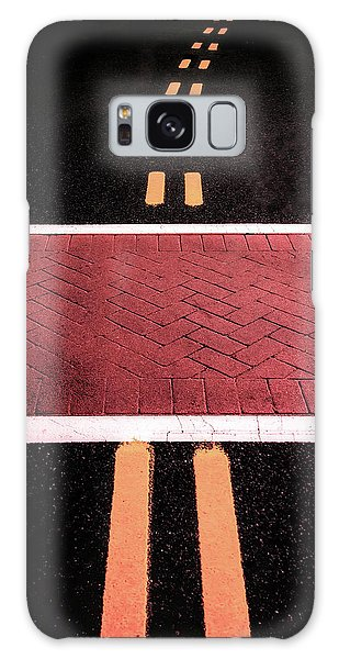 Crosswalk Conversion Of Traffic Lines Galaxy Case
