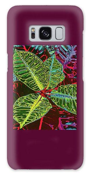 Croton - Deep Green Galaxy Case