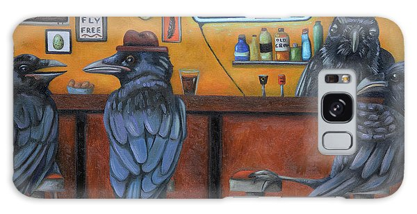 Crow Bar Galaxy Case by Leah Saulnier The Painting Maniac