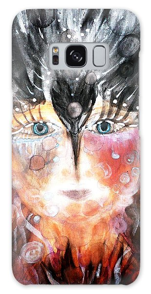Crow Child Galaxy Case
