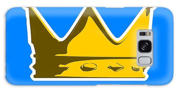 English Galaxy Case - Crown Graphic Design by Pixel Chimp