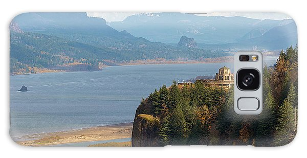 Crown Point On Columbia River Gorge Galaxy Case
