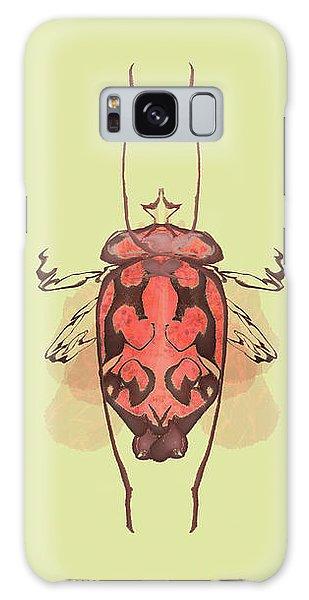 Crowned Horn Bug Specimen Galaxy Case