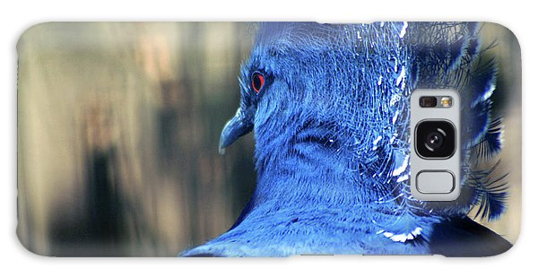 Crowned Pigeon Galaxy Case by Terry Cork