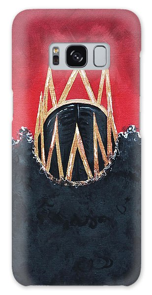 Galaxy Case featuring the painting Crowned Royal by Aliya Michelle