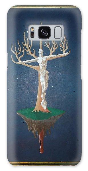 Crucifix Galaxy Case