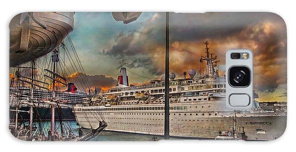 Cruise Port Galaxy Case by Hanny Heim