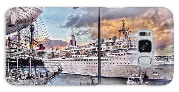 Cruise Port - Light Galaxy Case by Hanny Heim