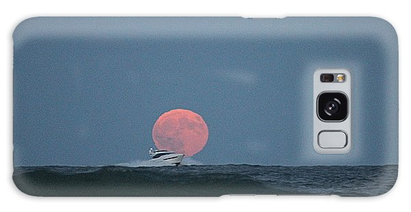 Cruising On A Wave During Harvest Moon Galaxy Case