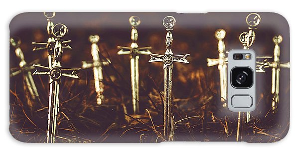 Cemetery Galaxy Case - Crusaders Cemetery by Jorgo Photography - Wall Art Gallery