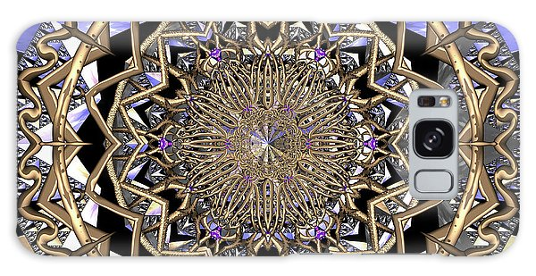 Galaxy Case featuring the digital art Crystal Ahau  by Robert Thalmeier