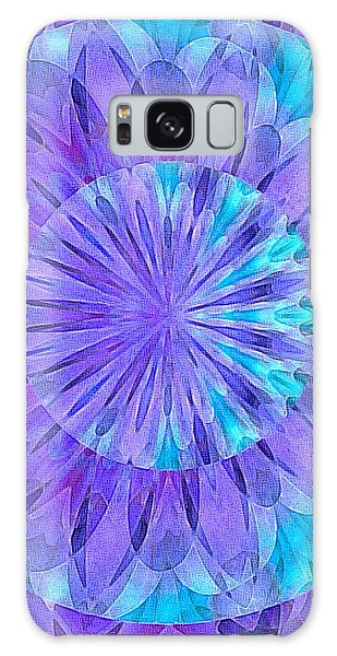 Crystal Aurora Borealis Galaxy Case