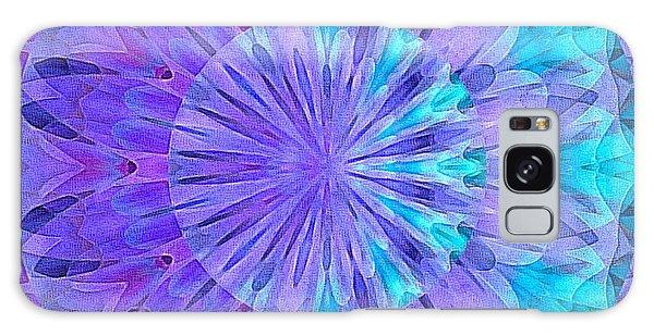 Crystal Aurora Borealis Galaxy Case