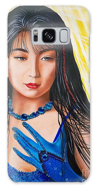 Crystal Blue China Girl            From   The Attitude Girls  Galaxy Case