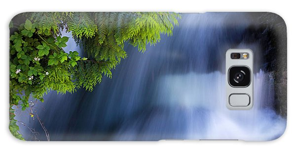 Crystal Creek Waterfalls Galaxy Case