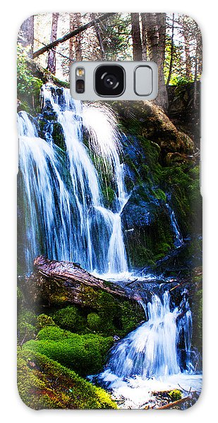 Crystal Fall Galaxy Case by Jerry Cahill