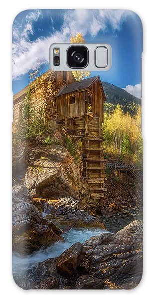 Crystal Mill Morning Galaxy Case by Darren White
