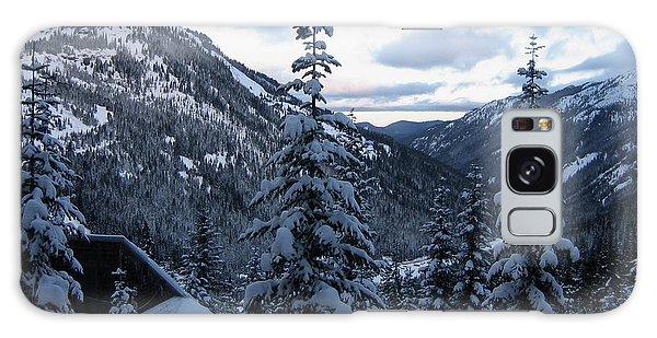 Crystal Mountain Dawn Galaxy Case