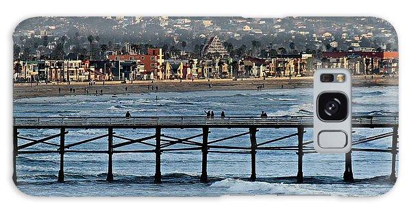 Crystal Pier - Mission Beach - Big Dipper Galaxy Case