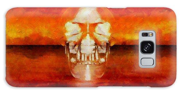 Anubis Galaxy Case - Crystal Skull by Esoterica Art Agency