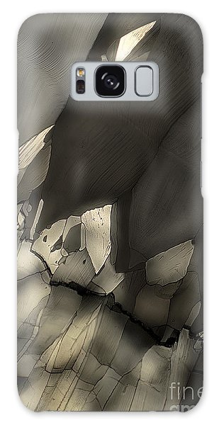 Falling Crystals Galaxy Case