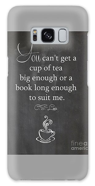 Cs Lewis Cup Of Tea Galaxy Case