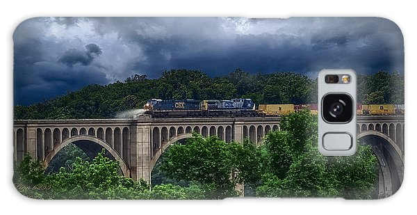 Csx Train Trestle Galaxy Case