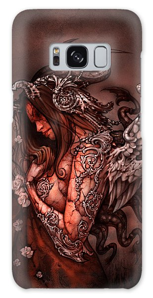 08e88861a57 Galaxy Case featuring the painting Cthluhu Princess by David Bollt