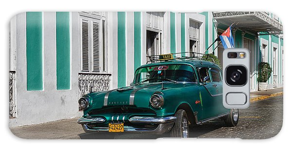 Cuba Cars II Galaxy Case by Juergen Klust
