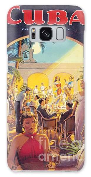 Cuba-land Of Romance Galaxy Case