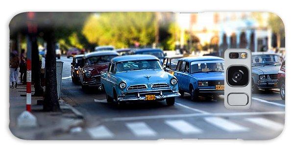 Cuba Street Scene Galaxy Case