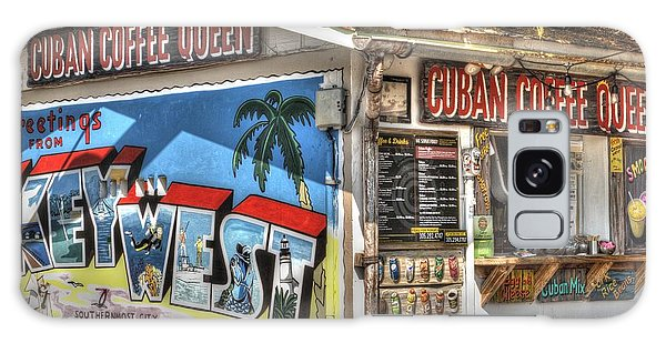 Cuban Coffee Queen Galaxy Case