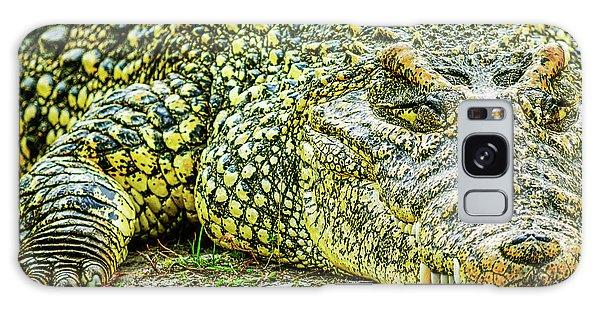 Cuban Croc Galaxy Case by Josy Cue