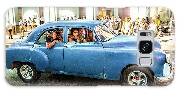 Cuban Taxi Galaxy Case