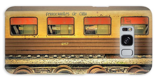 Cuban Train Galaxy Case