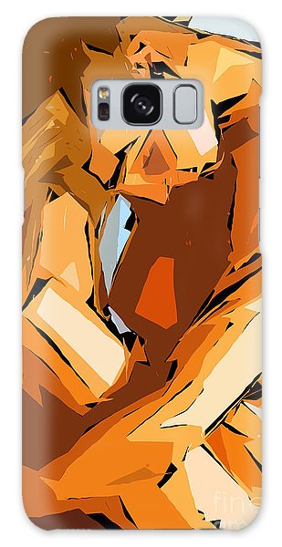 Cubism Series Ix Galaxy Case
